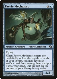 Faerie Mechanist, Magic: The Gathering, Duel Decks: Elspeth vs. Tezzeret