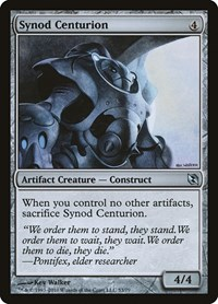 Synod Centurion, Magic: The Gathering, Duel Decks: Elspeth vs. Tezzeret