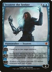 Tezzeret the Seeker, Magic: The Gathering, Duel Decks: Elspeth vs. Tezzeret
