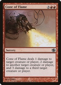 Cone of Flame, Magic: The Gathering, Duel Decks: Jace vs. Chandra