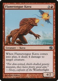 Flametongue Kavu, Magic, Duel Decks: Jace vs. Chandra