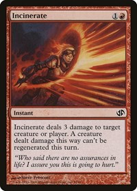 Incinerate, Magic: The Gathering, Duel Decks: Jace vs. Chandra