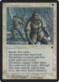 Icatian Skirmishers, Magic: The Gathering, Fallen Empires