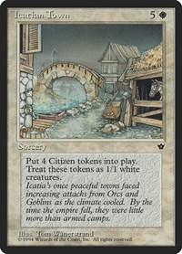 Icatian Town, Magic, Fallen Empires