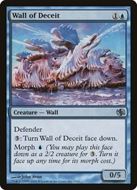 Wall of Deceit, Magic: The Gathering, Duel Decks: Jace vs. Chandra