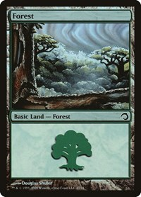 Forest (41), Magic: The Gathering, Premium Deck Series: Slivers