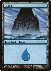 Island (38), Magic, Premium Deck Series: Slivers