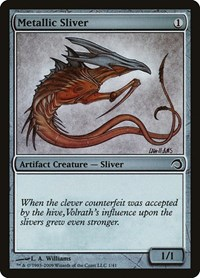 Metallic Sliver, Magic, Premium Deck Series: Slivers