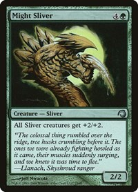 Might Sliver, Magic: The Gathering, Premium Deck Series: Slivers