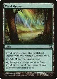 Vivid Grove, Magic: The Gathering, Premium Deck Series: Slivers