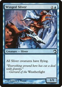Winged Sliver, Magic: The Gathering, Premium Deck Series: Slivers