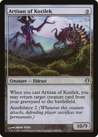 Artisan of Kozilek, Magic: The Gathering, Archenemy
