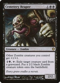 Cemetery Reaper, Magic: The Gathering, Archenemy