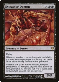 Extractor Demon, Magic: The Gathering, Archenemy