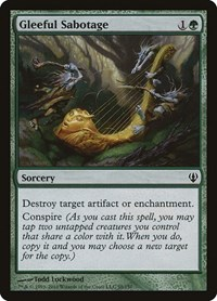 Gleeful Sabotage, Magic: The Gathering, Archenemy