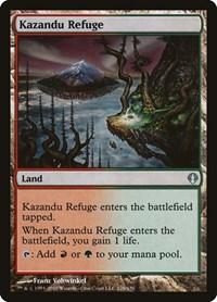 Kazandu Refuge, Magic: The Gathering, Archenemy