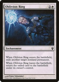 Oblivion Ring, Magic: The Gathering, Archenemy