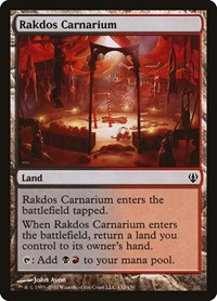 Rakdos Carnarium, Magic: The Gathering, Archenemy