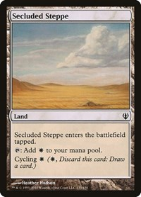 Secluded Steppe, Magic: The Gathering, Archenemy