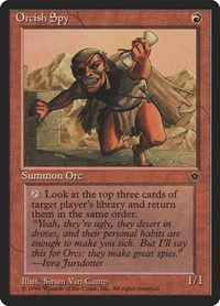Orcish Spy (Camp), Magic: The Gathering, Fallen Empires