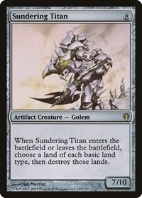 Sundering Titan, Magic: The Gathering, Archenemy