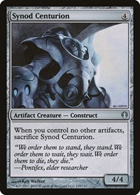 Synod Centurion, Magic: The Gathering, Archenemy