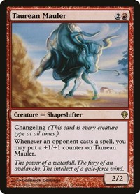 Taurean Mauler, Magic: The Gathering, Archenemy