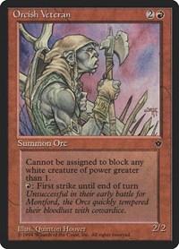 Orcish Veteran (Hoover), Magic, Fallen Empires