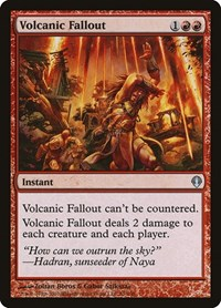 Volcanic Fallout, Magic: The Gathering, Archenemy