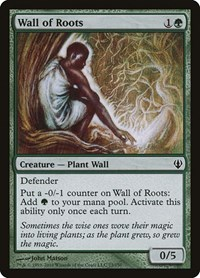 Wall of Roots, Magic, Archenemy