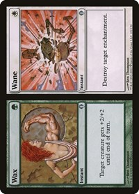 Wax // Wane, Magic: The Gathering, Archenemy