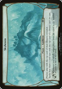 Skybreen (Planechase), Magic, Oversize Cards