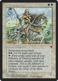 Order of Leitbur (Female), Magic: The Gathering, Fallen Empires