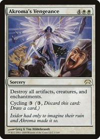 Akroma's Vengeance, Magic: The Gathering, Planechase