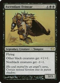Ascendant Evincar, Magic: The Gathering, Planechase