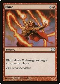 Blaze, Magic: The Gathering, Planechase