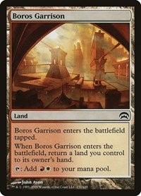Boros Garrison, Magic: The Gathering, Planechase