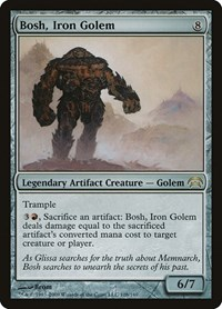 Bosh, Iron Golem, Magic, Planechase