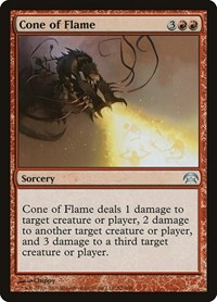 Cone of Flame, Magic: The Gathering, Planechase