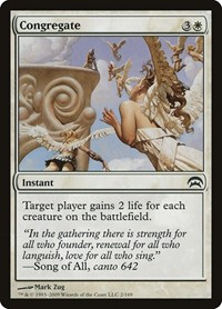 Congregate, Magic: The Gathering, Planechase
