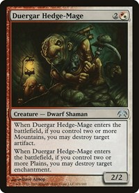 Duergar Hedge-Mage, Magic: The Gathering, Planechase