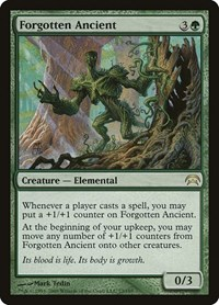 Forgotten Ancient, Magic: The Gathering, Planechase