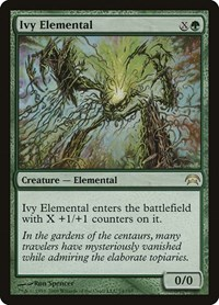 Ivy Elemental, Magic: The Gathering, Planechase