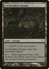 Leechridden Swamp, Magic: The Gathering, Planechase
