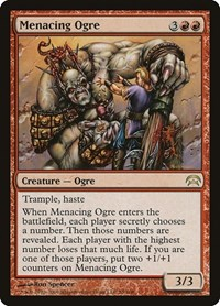 Menacing Ogre, Magic: The Gathering, Planechase