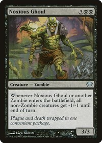 Noxious Ghoul, Magic: The Gathering, Planechase