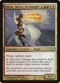 Razia, Boros Archangel, Magic: The Gathering, Planechase