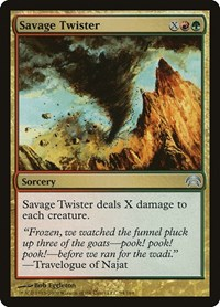 Savage Twister, Magic, Planechase