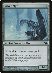 Silver Myr, Magic: The Gathering, Planechase