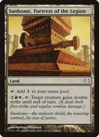 Sunhome, Fortress of the Legion, Magic: The Gathering, Planechase
